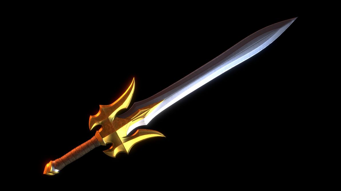 MOTU - DC Reforged Power Sword by paulrich