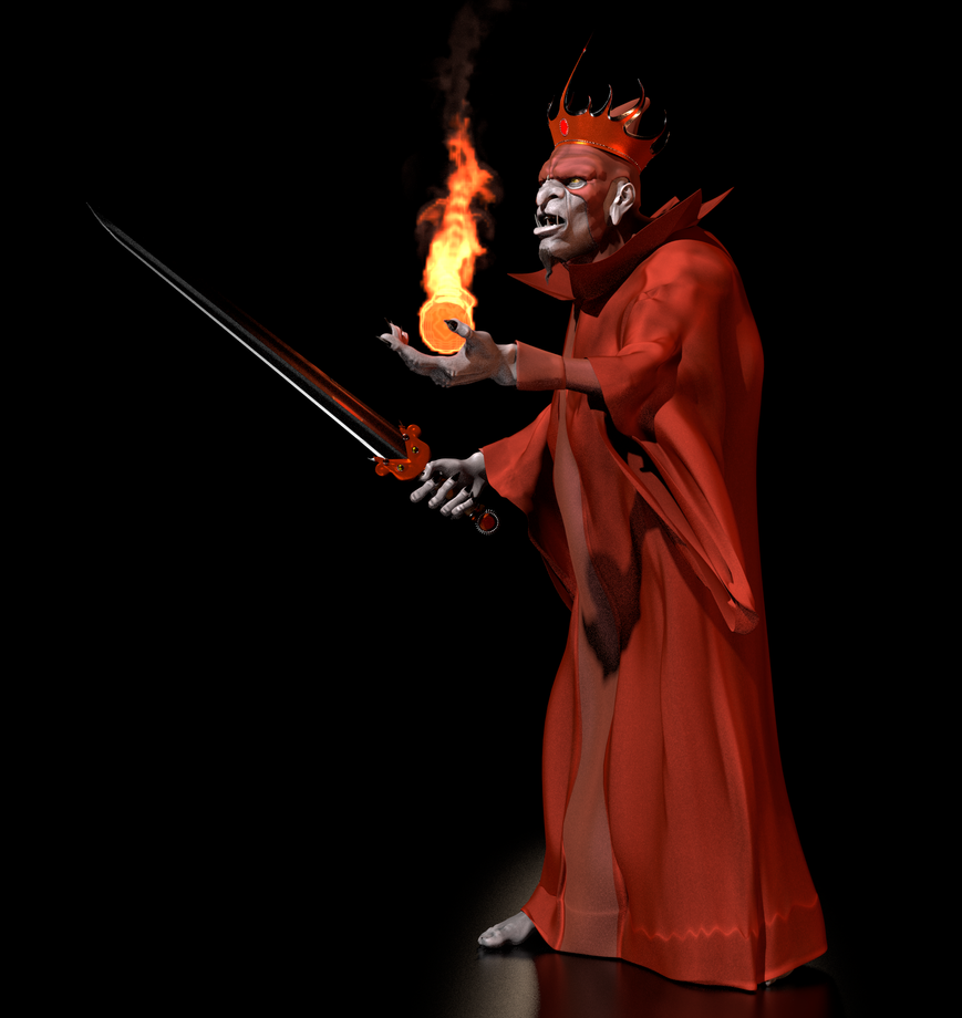 TFOD - Ommadon, The Red Wizard 4 by paulrich