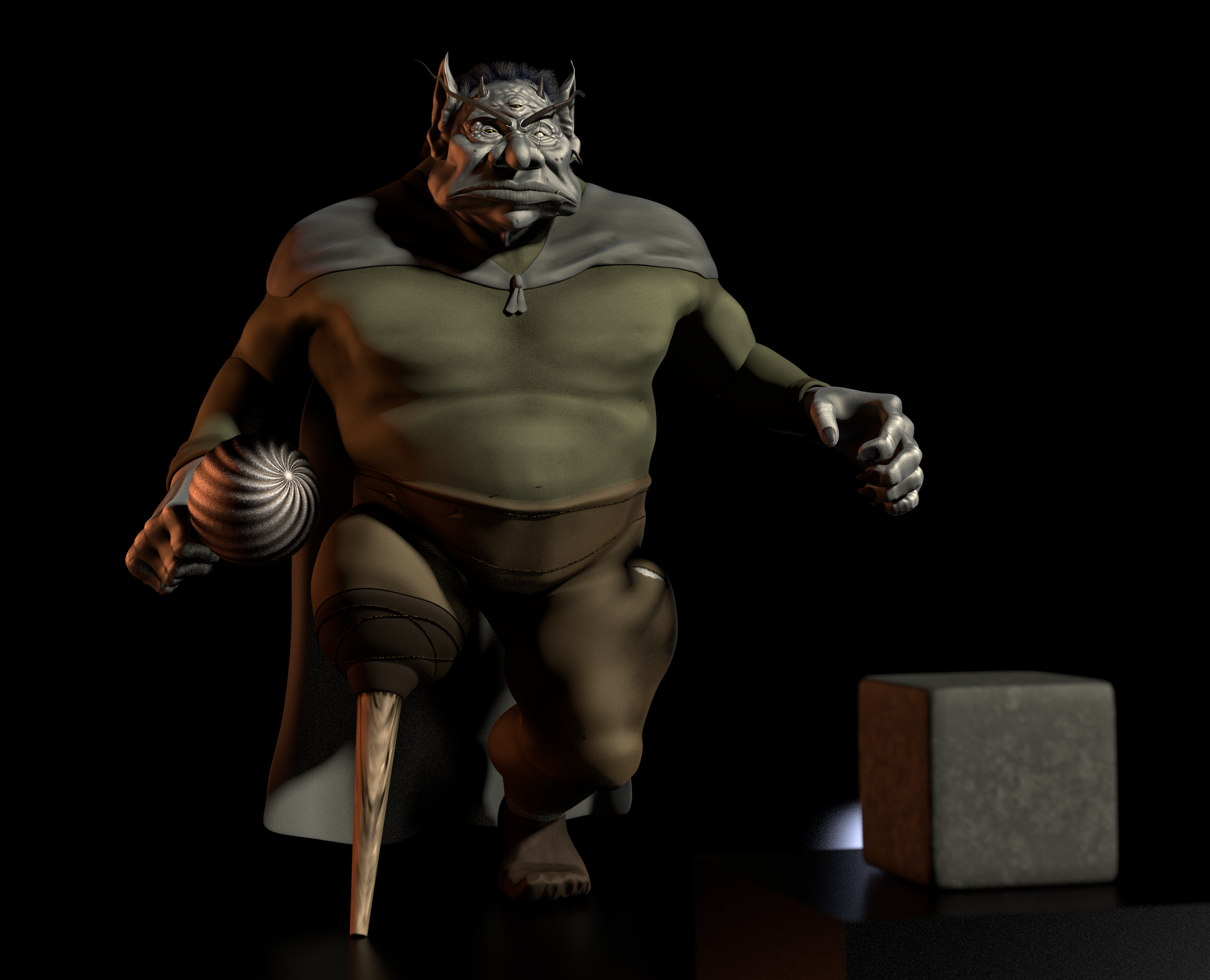 TFOD - The Ogre of Gormley Keep 3 by paulrich