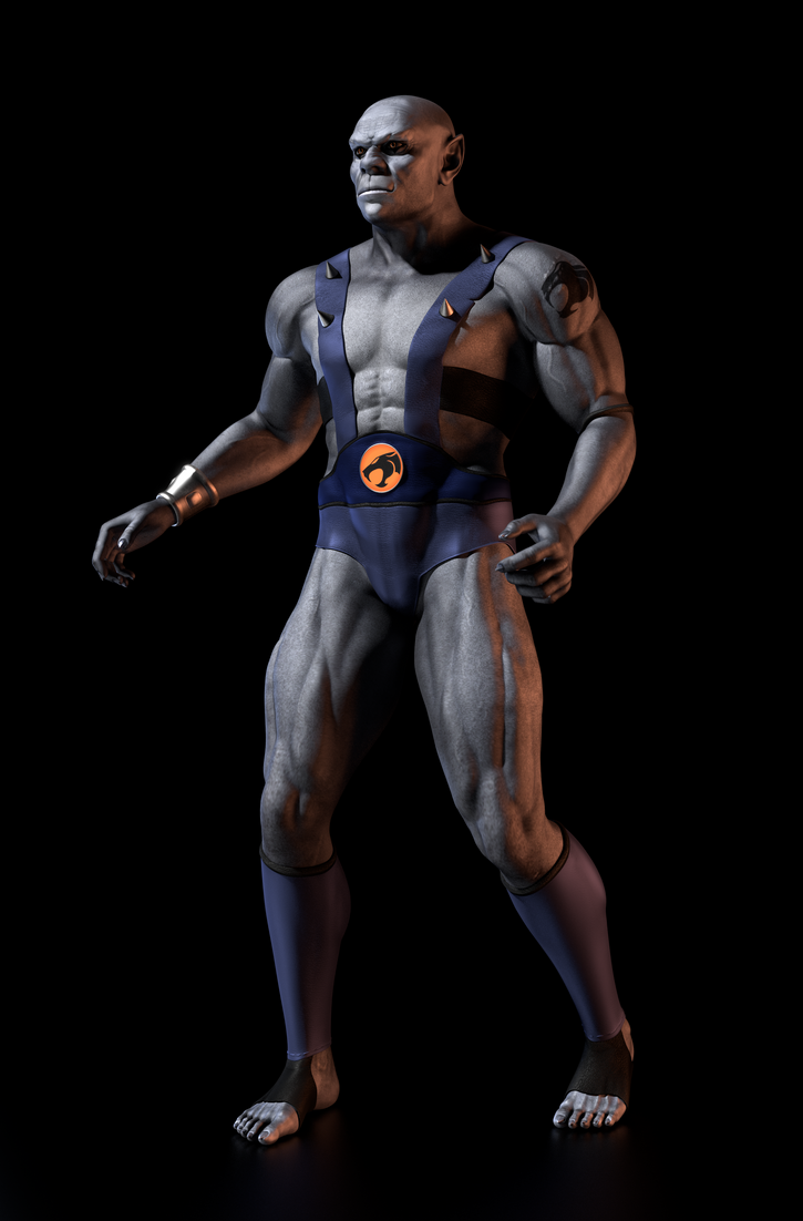 TC - Panthro - WIP2 by paulrich