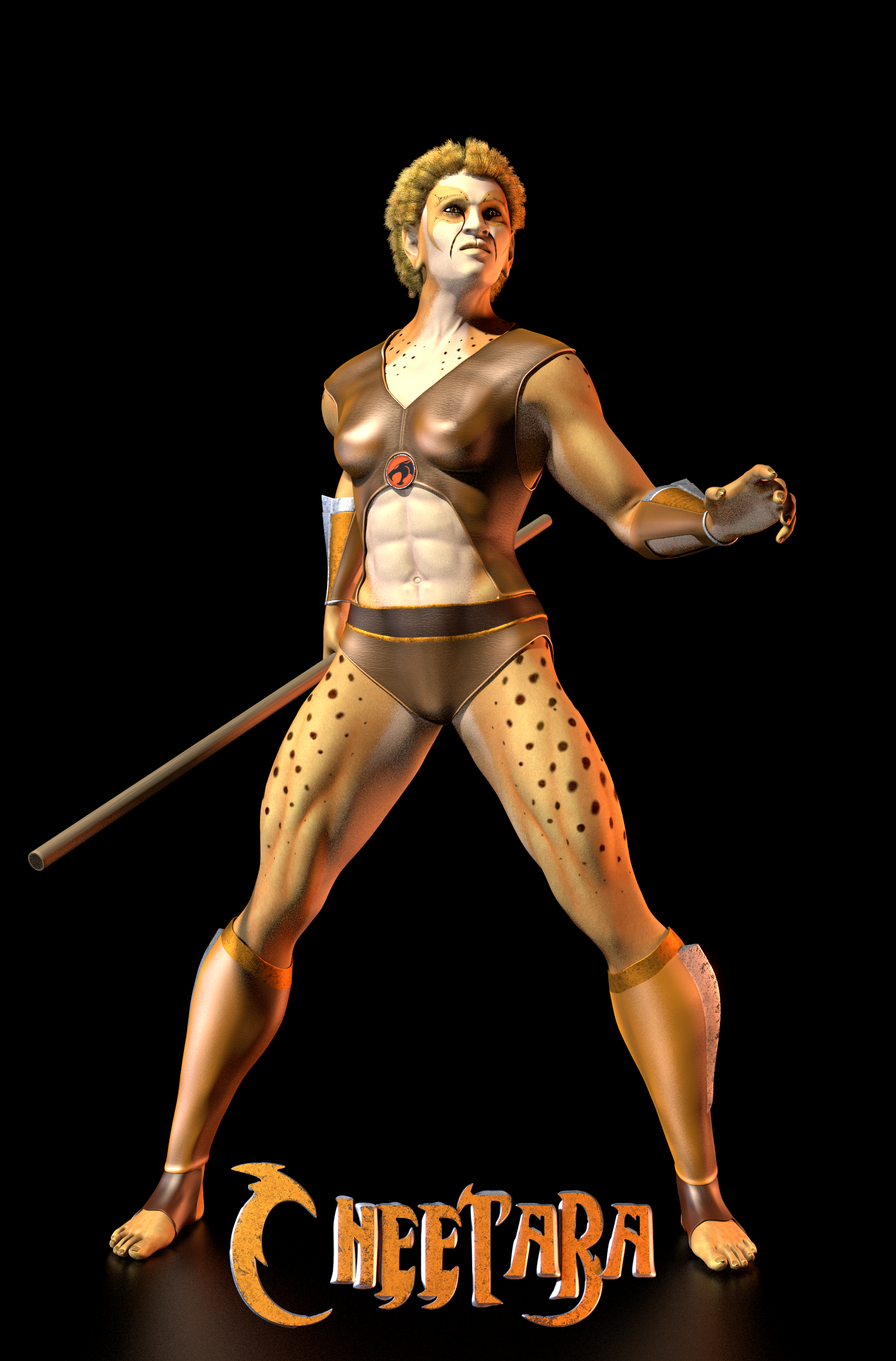 TC - Cheetara 2 by paulrich
