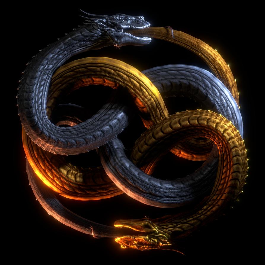 Draco Serpent Auryn by paulrich