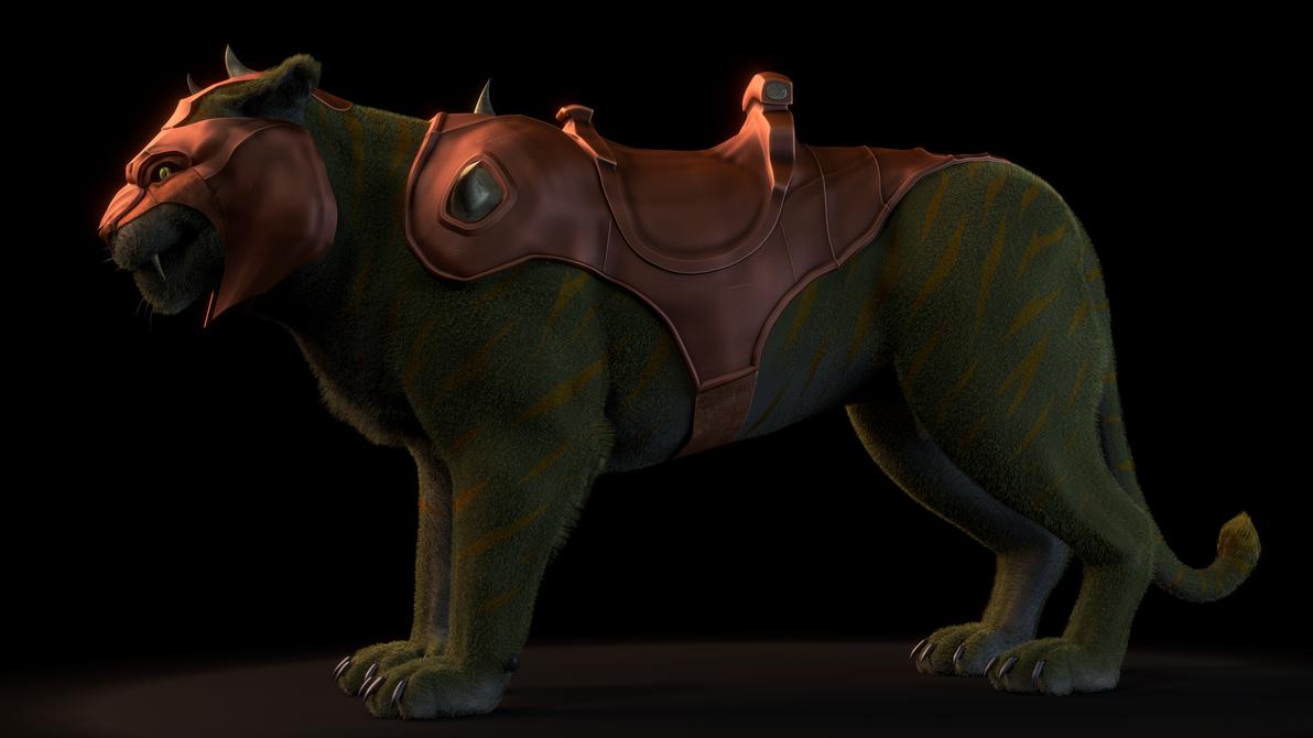 MOTU - Battle Cat - 2 by paulrich