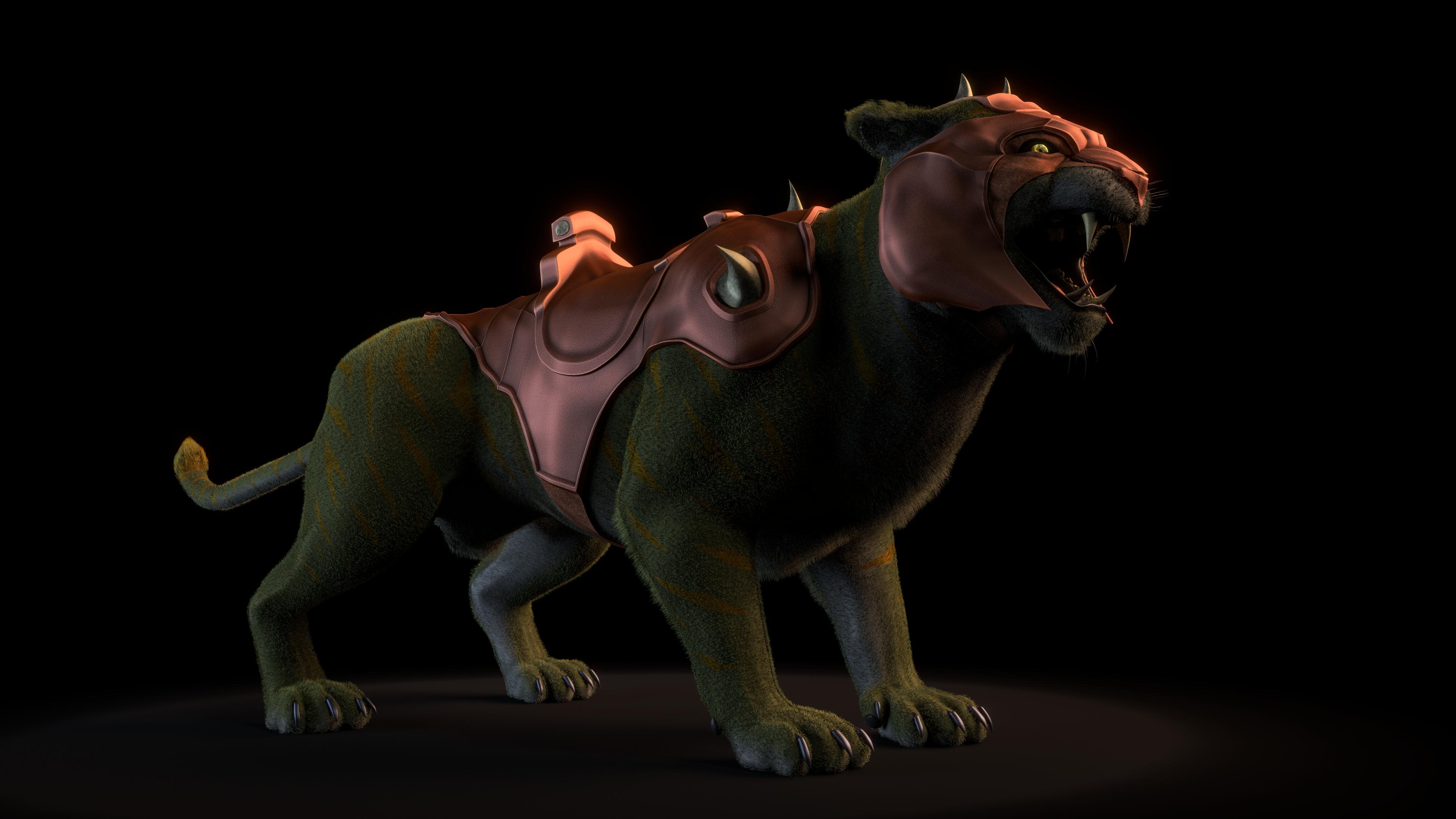 MOTU - Battle Cat - 3 by paulrich
