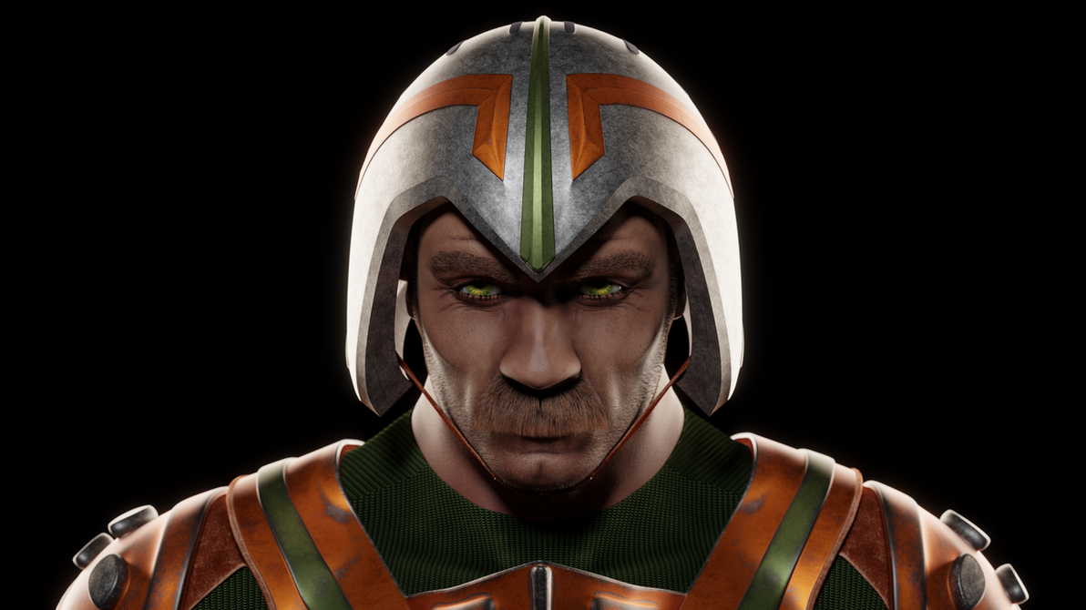 MOTU - Man-At-Arms II - Portrait 2 by paulrich
