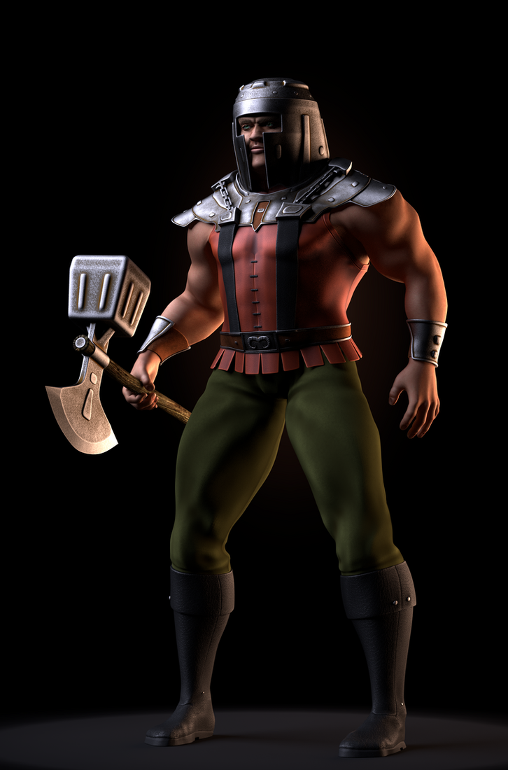 MOTU - Ram-Man 1 by paulrich