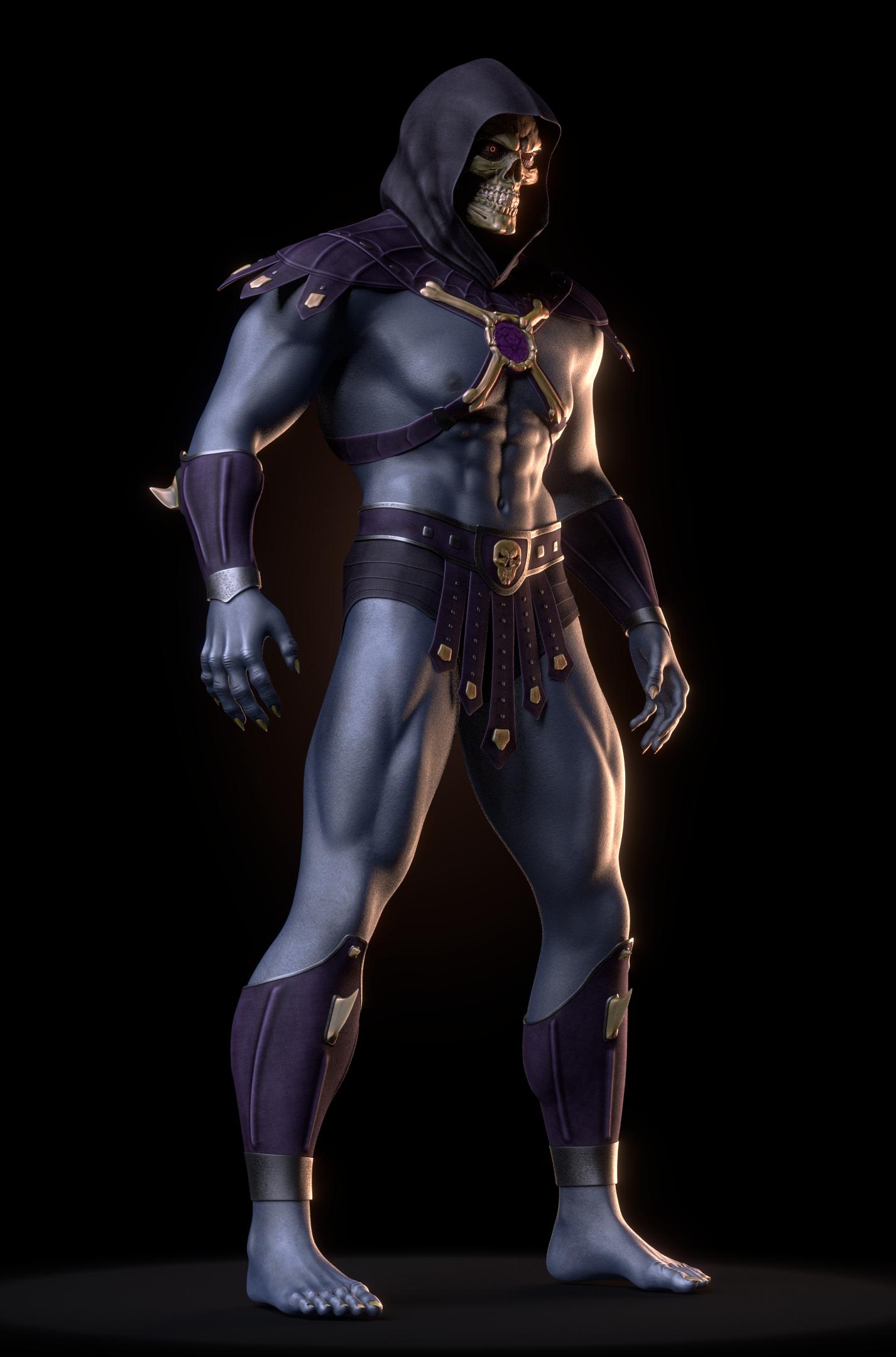 MOTU - Skeletor III - WIP 1 by paulrich