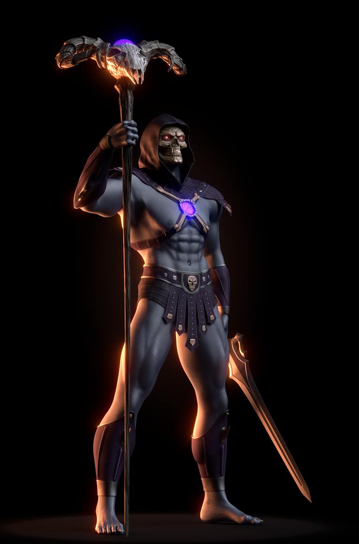 MOTU - Skeletor III - 1 by paulrich