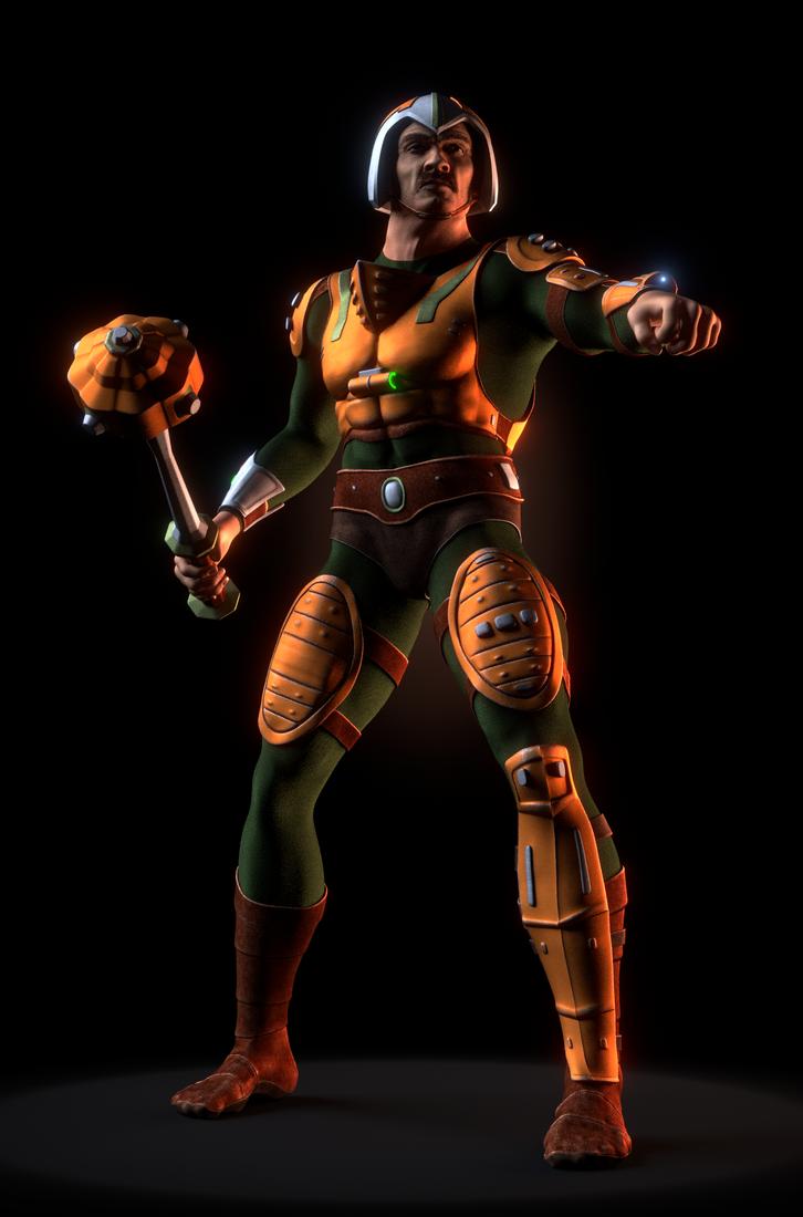 MOTU - Man-At-Arms II - 2 by paulrich