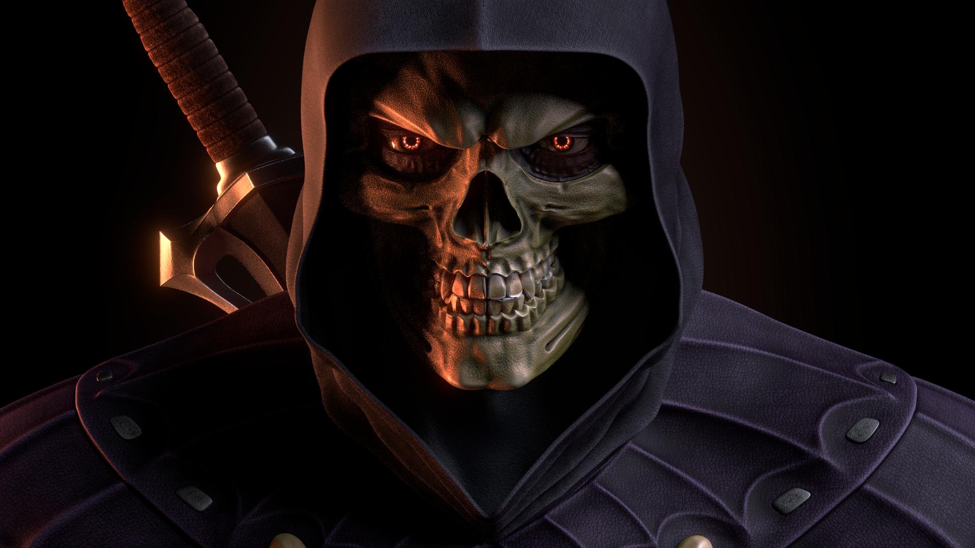 MOTU - Skeletor III - Close Up by paulrich