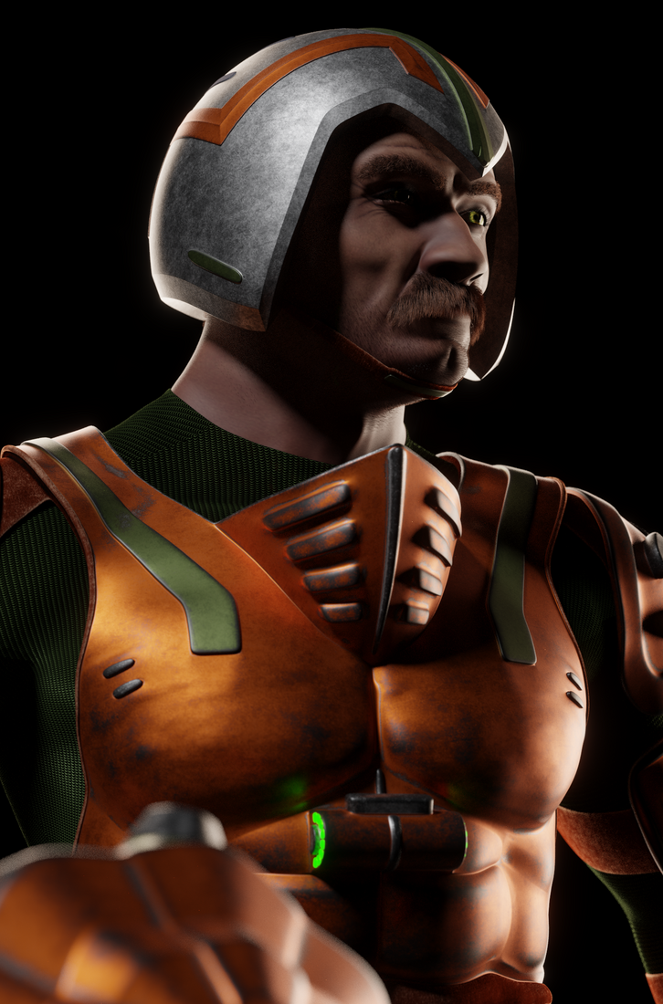 MOTU - Man-At-Arms II - Portrait 2 by paulrich