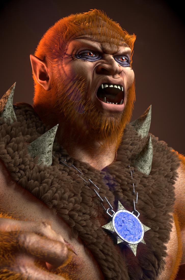 MOTU - Beast Man II - 4 by paulrich