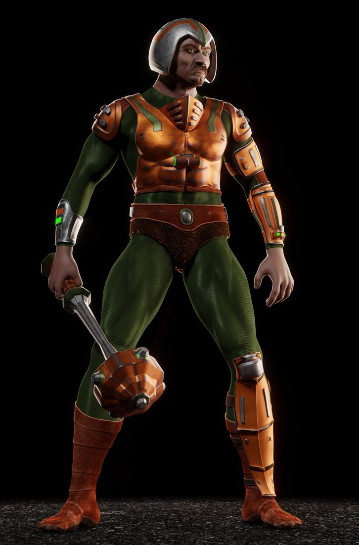 MOTU - Man-At-Arms II - 3 by paulrich