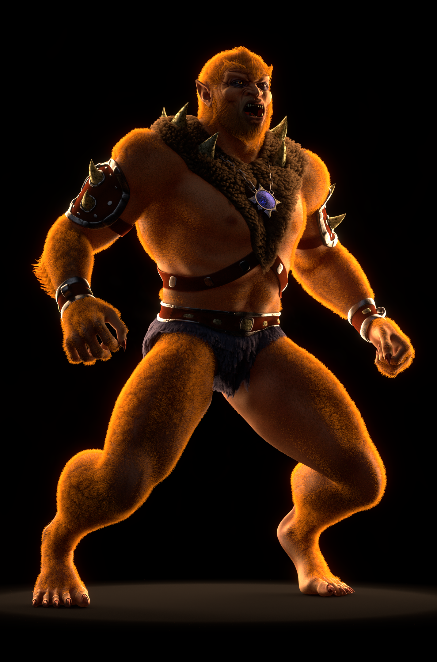 MOTU - Beast Man II - 5 by paulrich
