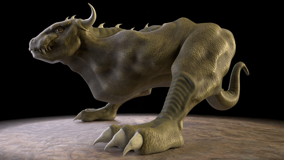 Bull Dragon 3D by paulrich