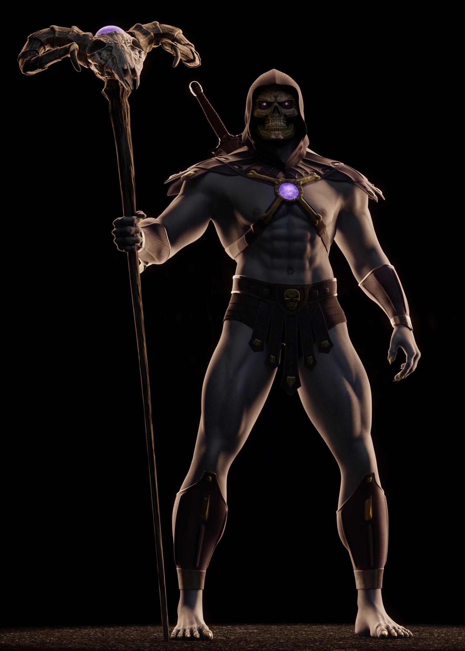 MOTU - Skeletor III - 3 by paulrich