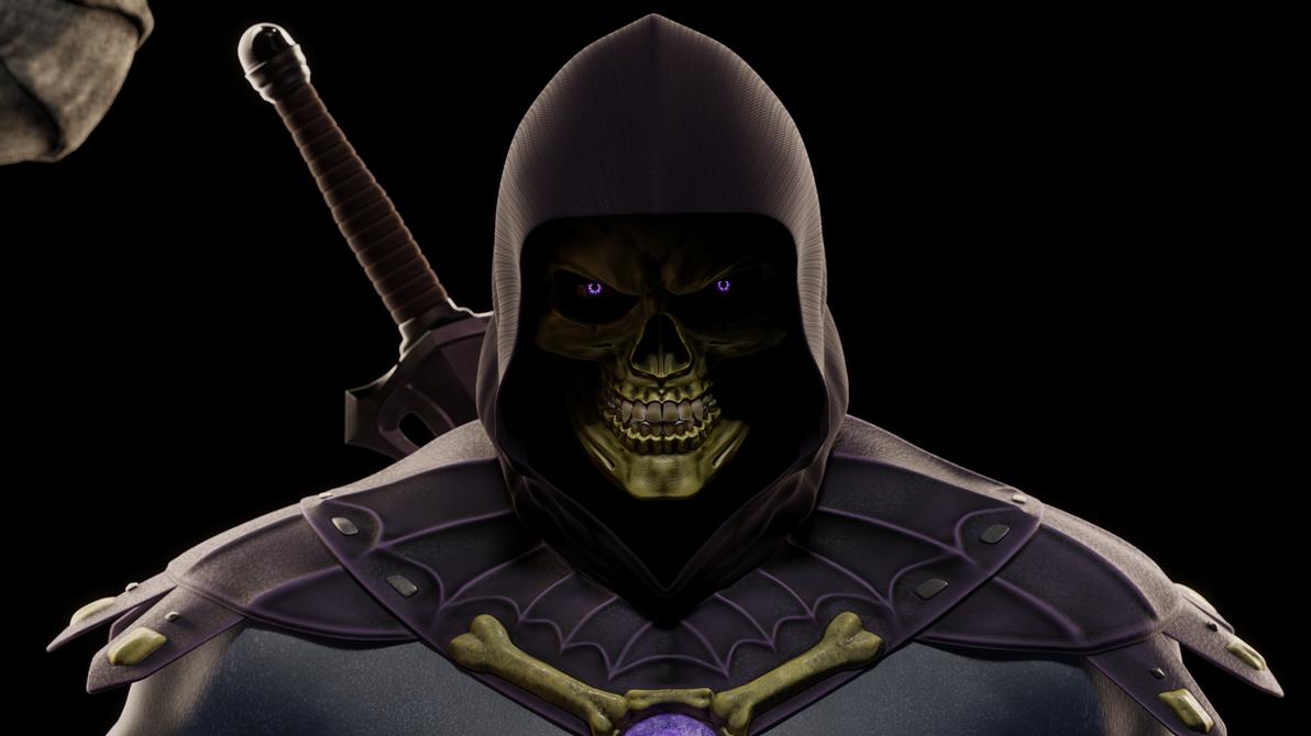 MOTU - Skeletor III - Close-up 4 by paulrich
