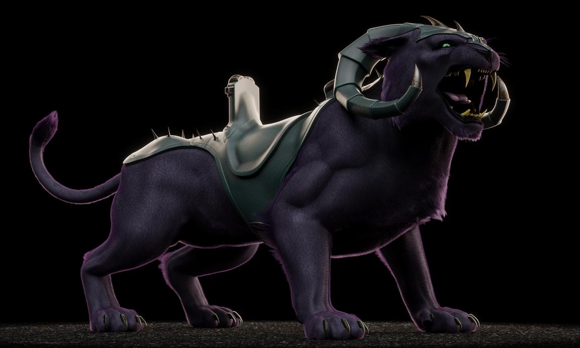 MOTU - Panthor with Helmet - 4 by paulrich