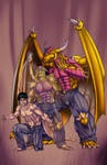 Man Or Dragon