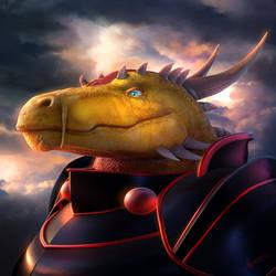 Abraxus Grimlock Portrait