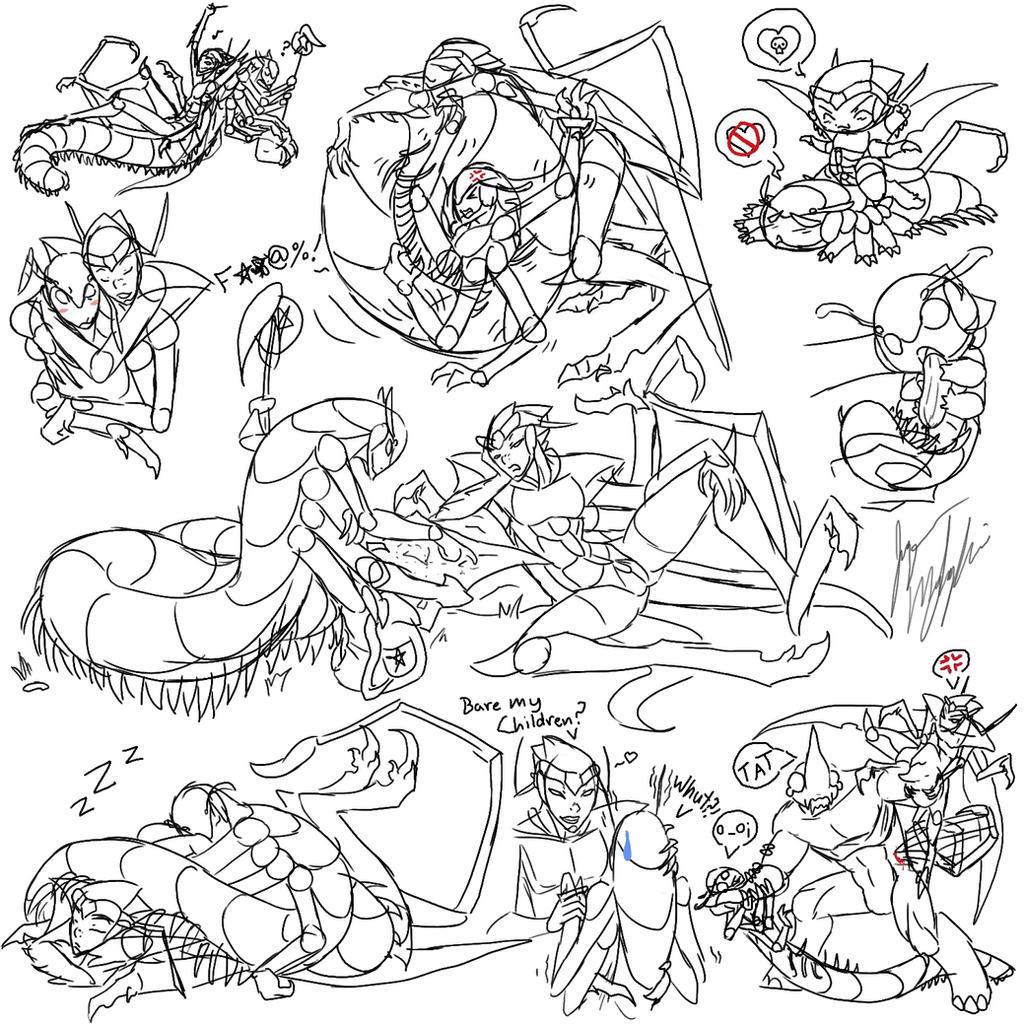 BliVoy doodles by peanutchan