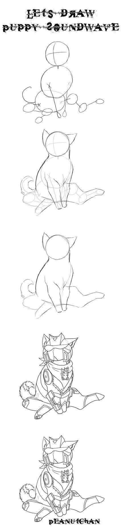 Lets Draw: Puppy Soundwave