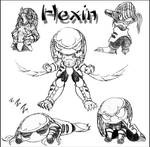 Hexin Chibis