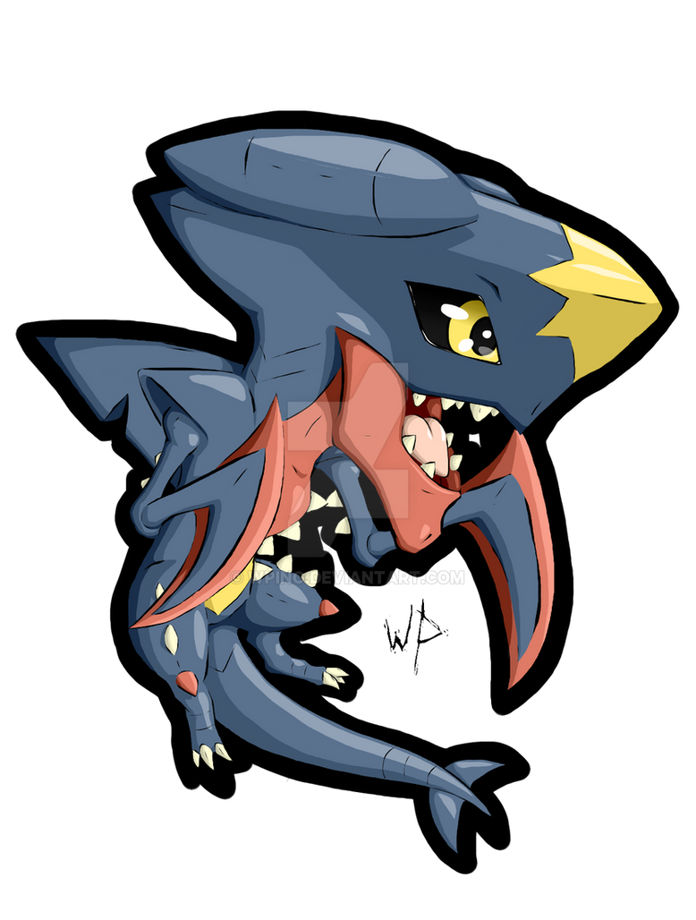 Mini garchomp mega by wping on deviantart - Mega carchacrok ...