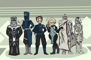 Ghosts of the Separatists- CIS Characters by piktips