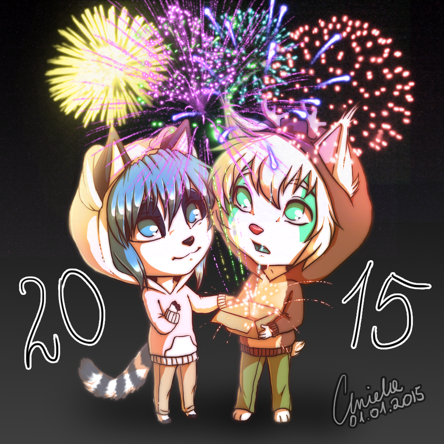 Happy New Year 2015! by Magic-Ray
