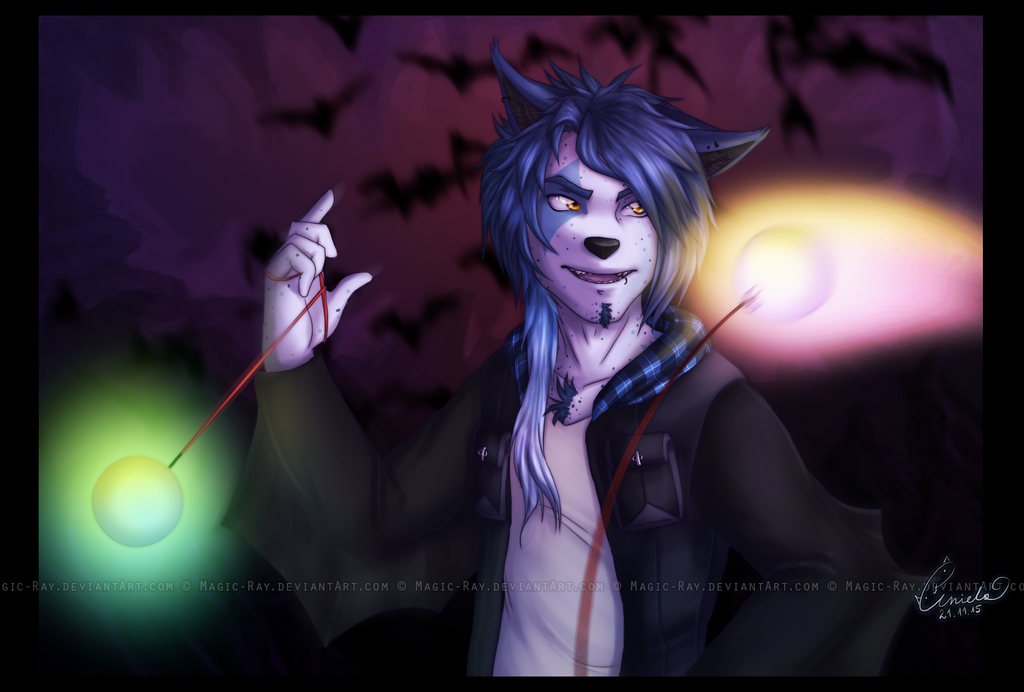 .::Flying lights::. by Magic-Ray