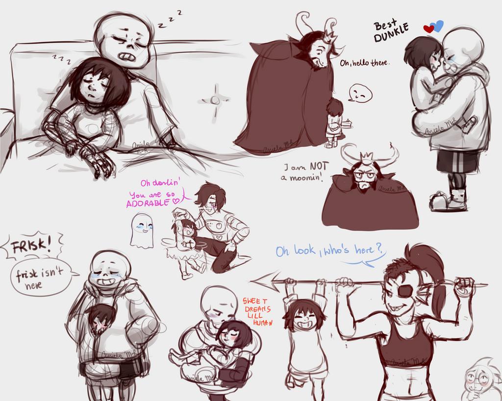 undertale: doodles