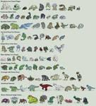 100 Creatures Challenge