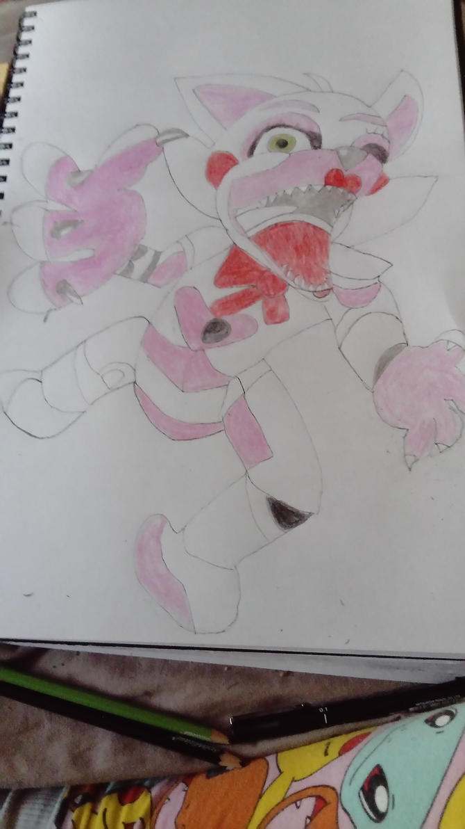 Funtime Foxy jump scared by Dragon4Enforcer