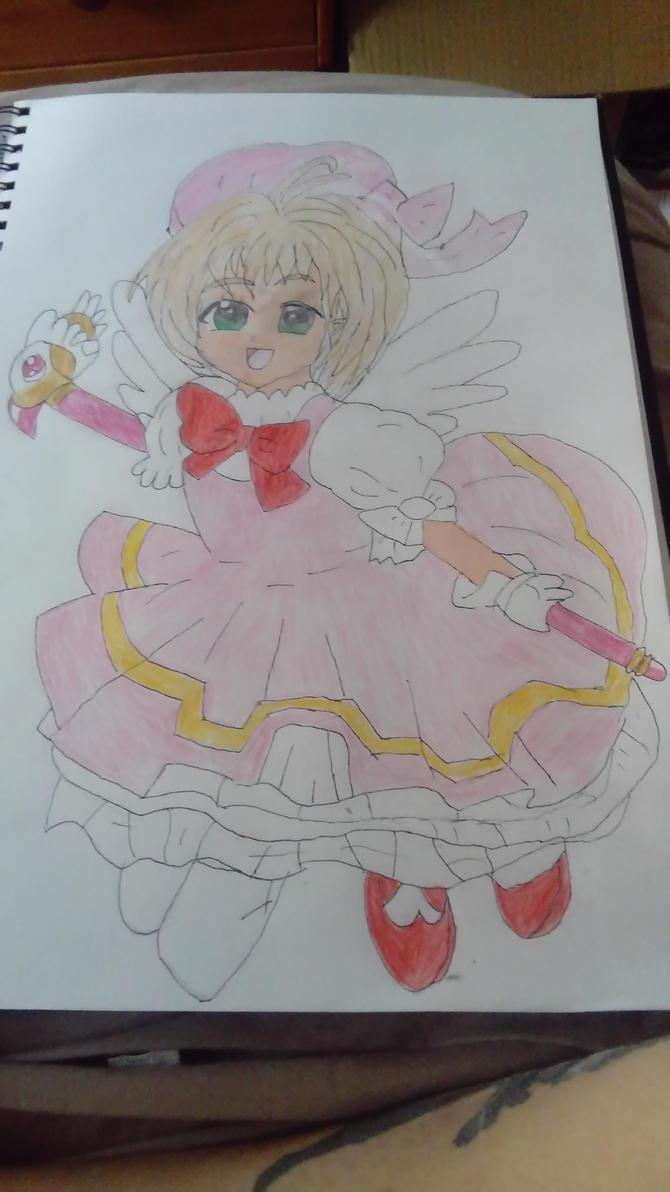 Card captors Sakura by Dragon4Enforcer
