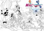 Winx and Megaman- Worlds Unite Battles (Variant 2)