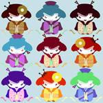 kawaii girls  times 2