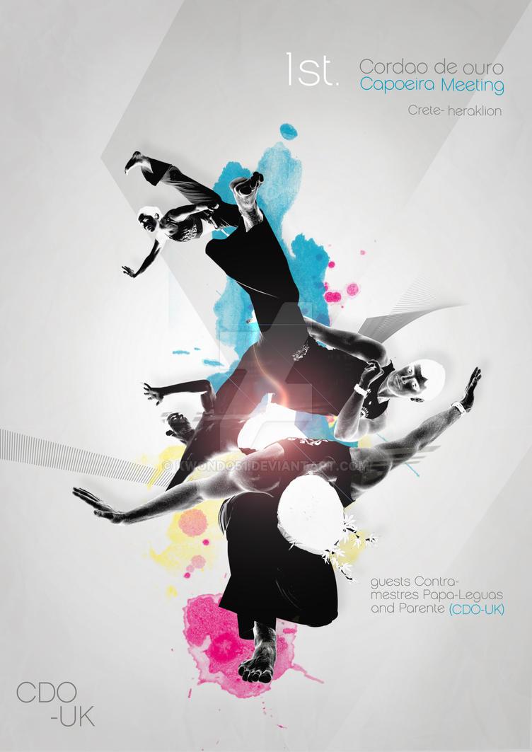 capoeira poster main 2 by kwondo51