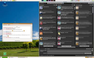Now I use Ubuntu. o: