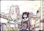 Sara-Ford, stroll throughtown