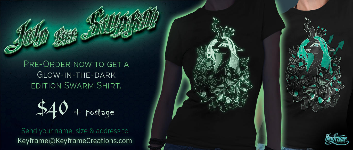 Shirt Pre-orders - Join the Swarm by Kraden
