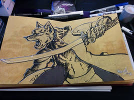TanroWolf Ink by Kraden