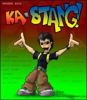 Kraden sayz ka-STANG by Kraden