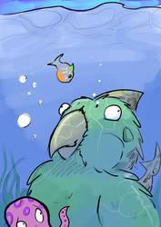Doodle - SharkBurb by Kraden