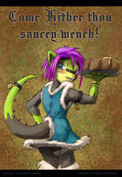 Come hither thou saucey wench by Kraden