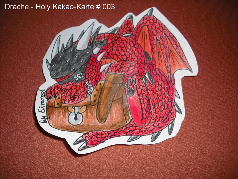 DracheHoly Kakao-Karte 003 by MoondragonEismond