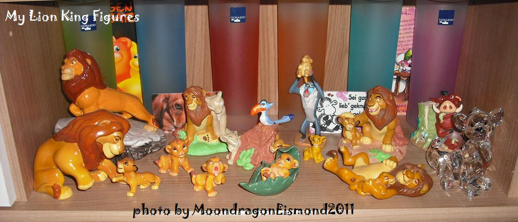 All my Lion King Figures by MoondragonEismond