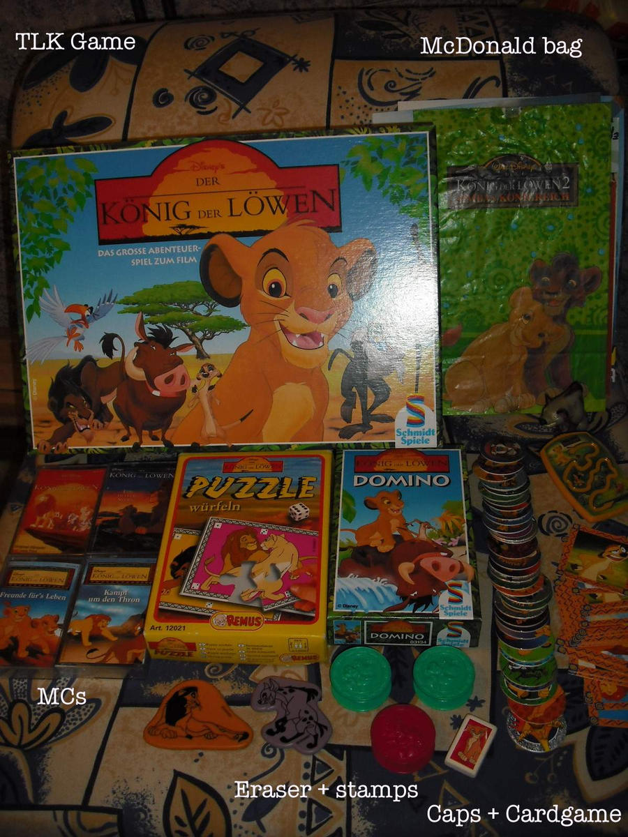 Other LionKing stuff by MoondragonEismond