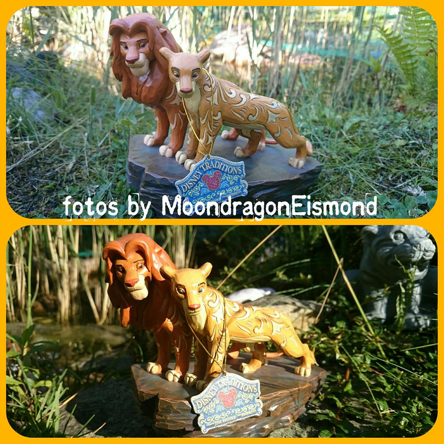 Disney Collection - Simba and Nala by MoondragonEismond