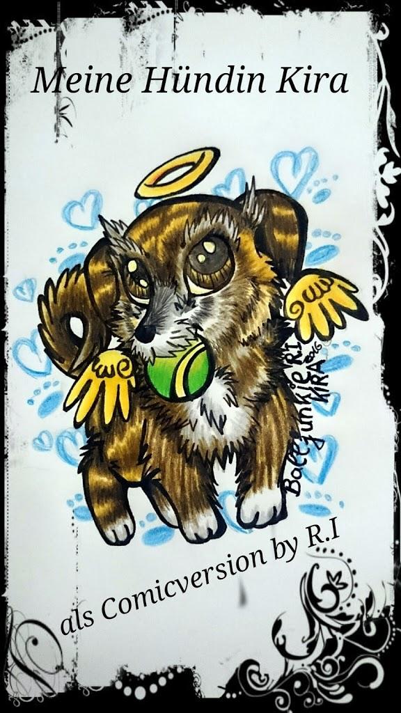 My sweet little Doggy Kira by MoondragonEismond